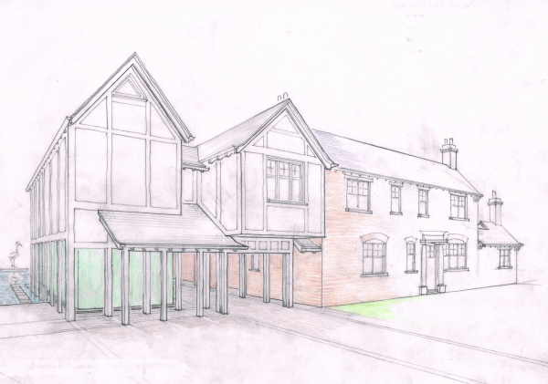architects macclesfield design pool house plans