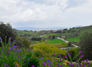 View of a valley far from Macclesfield. Architects photo of Sicily