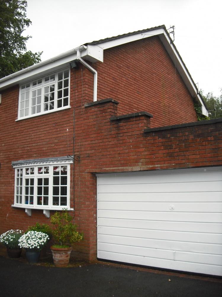 Architects Macclesfield new house alternative. before shot