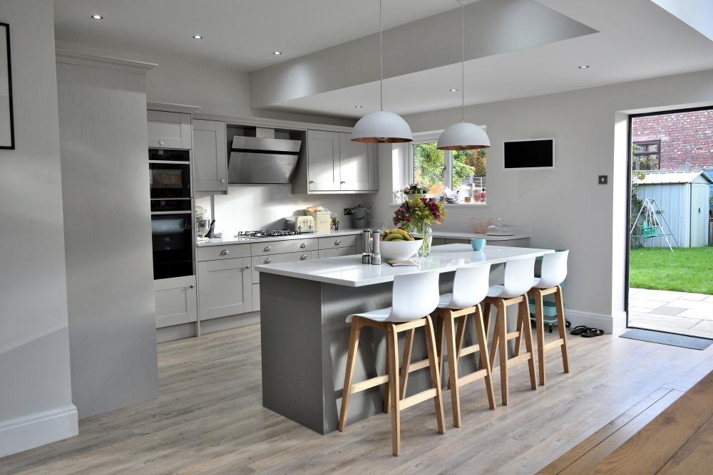 Architects photo of Altrincham house kitchen
